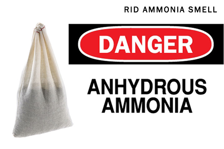 How To Get Rid Of Ammonia Smell, Gas And Spill