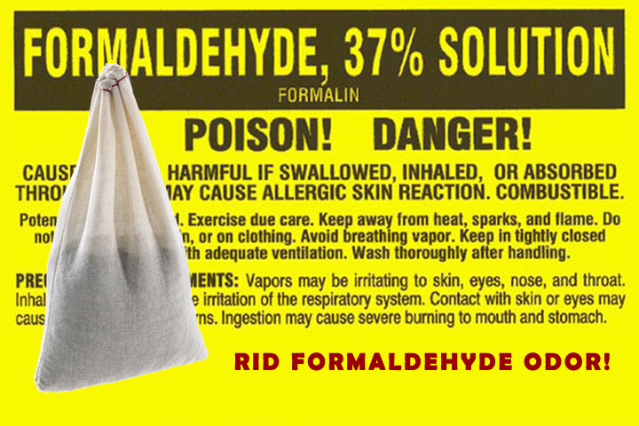 How to Remove Formaldehyde Odor & Reduce Exposure